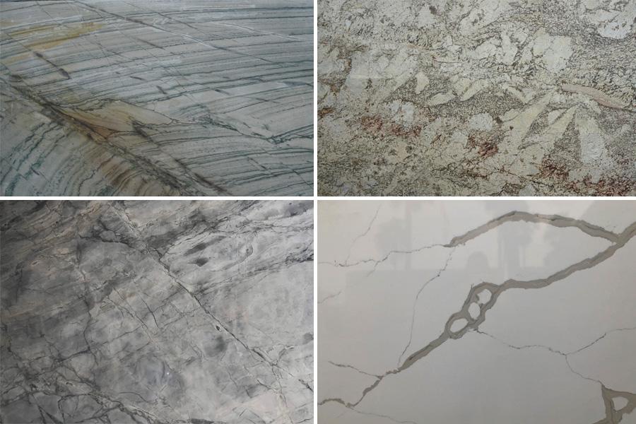 Marble vs Granite vs Quartzite vs Quartz